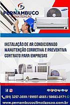 Manutencao e instalacao de ar condicionado em pernambuco