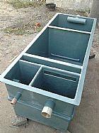 Caixa separadora de óleo / água