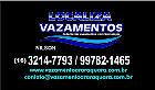 Localiza vazamentos de água araraquara