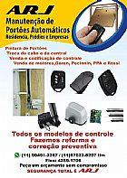 Tecnico e manutencao de portao automaticos