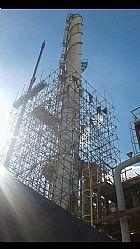 Montagens de andaimes e limpeza de obras em construcao civil
