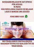 Massagem relaxante anti-stress