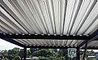 Coberturas de telhas galvanizadas