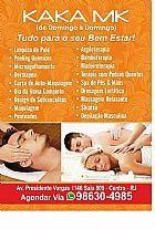Depilação-limpeza de pele-massagem relaxante