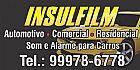 Insulfilm residencial, comercial, automotivo