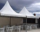 Aluguel de tendas 3x3 e 4x4 zona norte