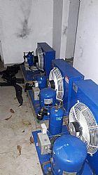 Desmontagem montagem camara fria congelado usadas novas sp