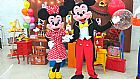 Personagens vivos cover mickey e minnie festas infantil