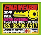 Chaveiro 24horas fortaleza ceará