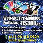 Websites profissionais r$ 300
