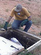 Caça vazamento em bh limpeza de calhas em bh fos