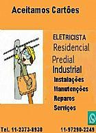 Instalador/ eletricista