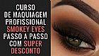Curso profissional de maquiagem smokey eyes