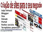 Criacao de sites e lojas virtual