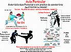 Aula particular de tai chi, defesa pessoal, kung fu, pilates