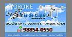 Fotos e vídeos com drone