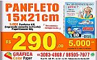 5.000 panfleto 15x21cm, 4/0, r$ 290,00