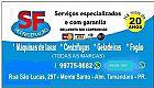 Conserto de maquinas de lavar roupas s.f refrigeracao