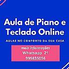 Aula on line piano classico e popular