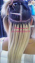Mega hair fita adesiva, queratina, micro capsulas, microlink