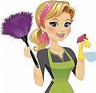 Limpeza diarias ou mensais e cuidadora de idosos