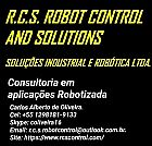 Consultoria e comercio de robôs e aplicacoes  industrial.