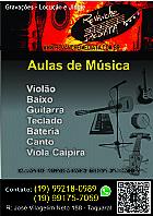 Aulas de viola violao bateria guitarra presencial e online