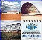Telhados e coberturas metalicas magnofer