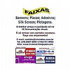 Faixas e Banners em Campinas   Disk (19)3027-5393