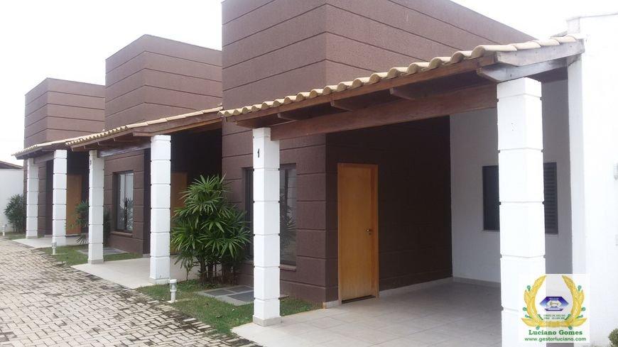 Casas em condominio 3qtos 1suite 1 vaga privativa - jardim fonte das esmeralda / go