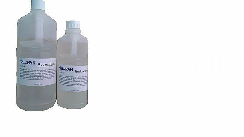 Resina epoxi rigida cristal kit 1,    5 kg p/ brindes e laminacao