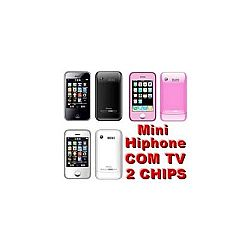 Celular Mp12 Mini Hiphone Tv Java 2chips R$ 99,90