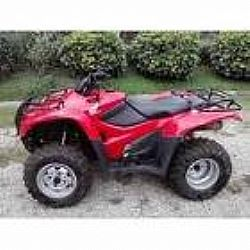 quadriciclo honda 4x4 2010 fourtrax