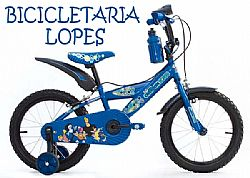 Bicicleta Aro 16 Sundown Cartoon Masculina e Feminina