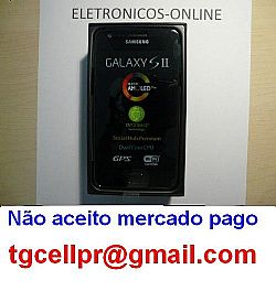 Samsung Galaxy S2 Gt-i9100 16gb Portugues 1.2ghz-R$1079