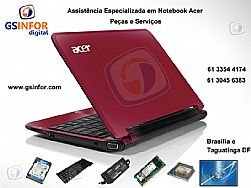 Notebook Acer,Acer Aspire, Onde Consertar Acer 4520 5920 4720 em Brasilia, Assistencia Acer DF, Aspire on, netbook Acer taguatinga DF