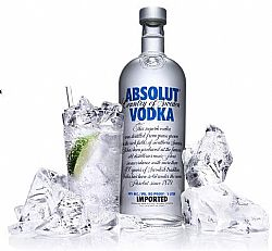 Vodka Absolut Natural e Vanilia - Londrina e Regiao