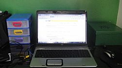 * NOTEBOOK * HP * PAVILION * DV9000 *