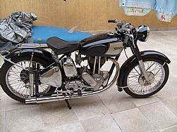 Motos antigas norton 1952