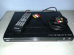 DVD player com karaoke