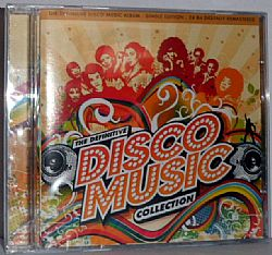 CD The Definitive Disco Music Collection