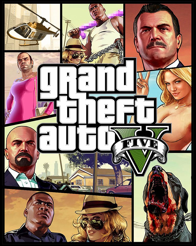Gta 5 V PS XBOX Grand Theft Auto 5 V Portugues