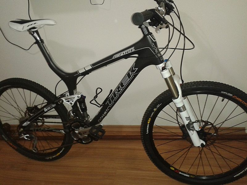 Mountain Bike Trek Top Fuel 9.8 2012