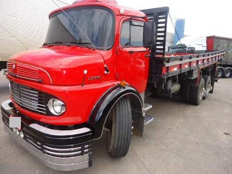 caminhao mb 1313 ano 1979 truck