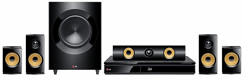 home theather lg 5.1 1200w bluray player 3d