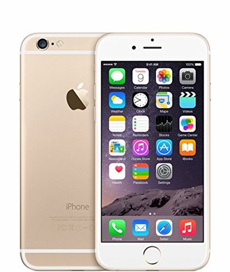 apple iphone 6 16gb gold silver