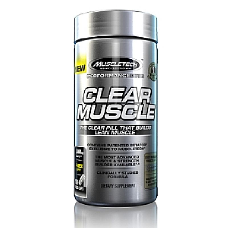 Clearmuscle Muscletech 180 capsulas
