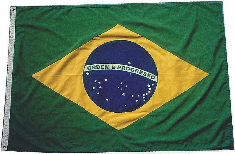 Bandeira brasil oficial grande 3 metros