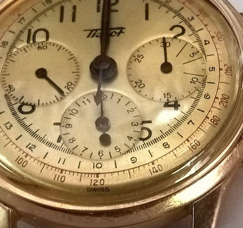 87acb05d19b Relogio tissot modelo cronografo em ouro