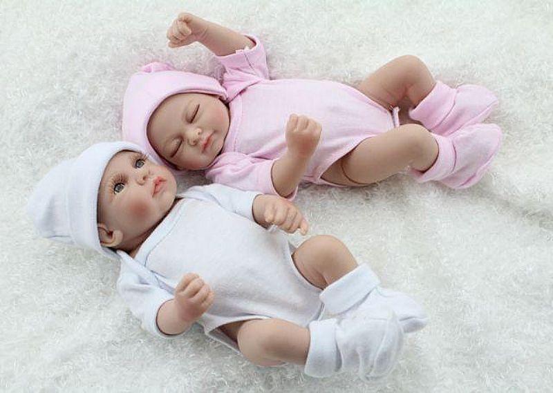 Boneca Reborn Gemeos ( Menina e Menino)